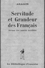 «Падение и величие французов» (Париж, 1945). Обложка