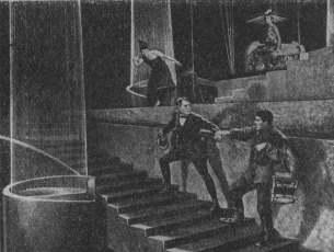 «Аэлита». Кадр из фильма. 1924.