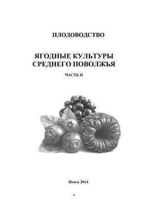 КАСЫНКИНА О. Плодоводство. Ягодные культуры Среднего Поволжья. Часть II