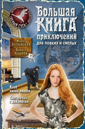 Волынская И., КАЩЕЕВ К. Большая книга приключений для ловких и смелых (сборник)