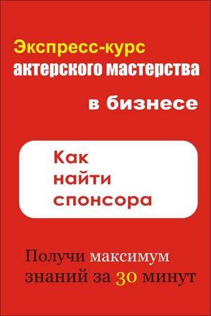 Мельников И. Как найти спонсора