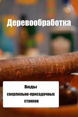 Мельников И. Виды сверлильно-присадочных станков