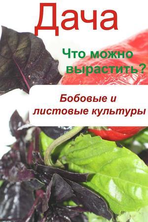 Мельников И. Что можно вырастить? Огород. Бобовые и листовые культуры